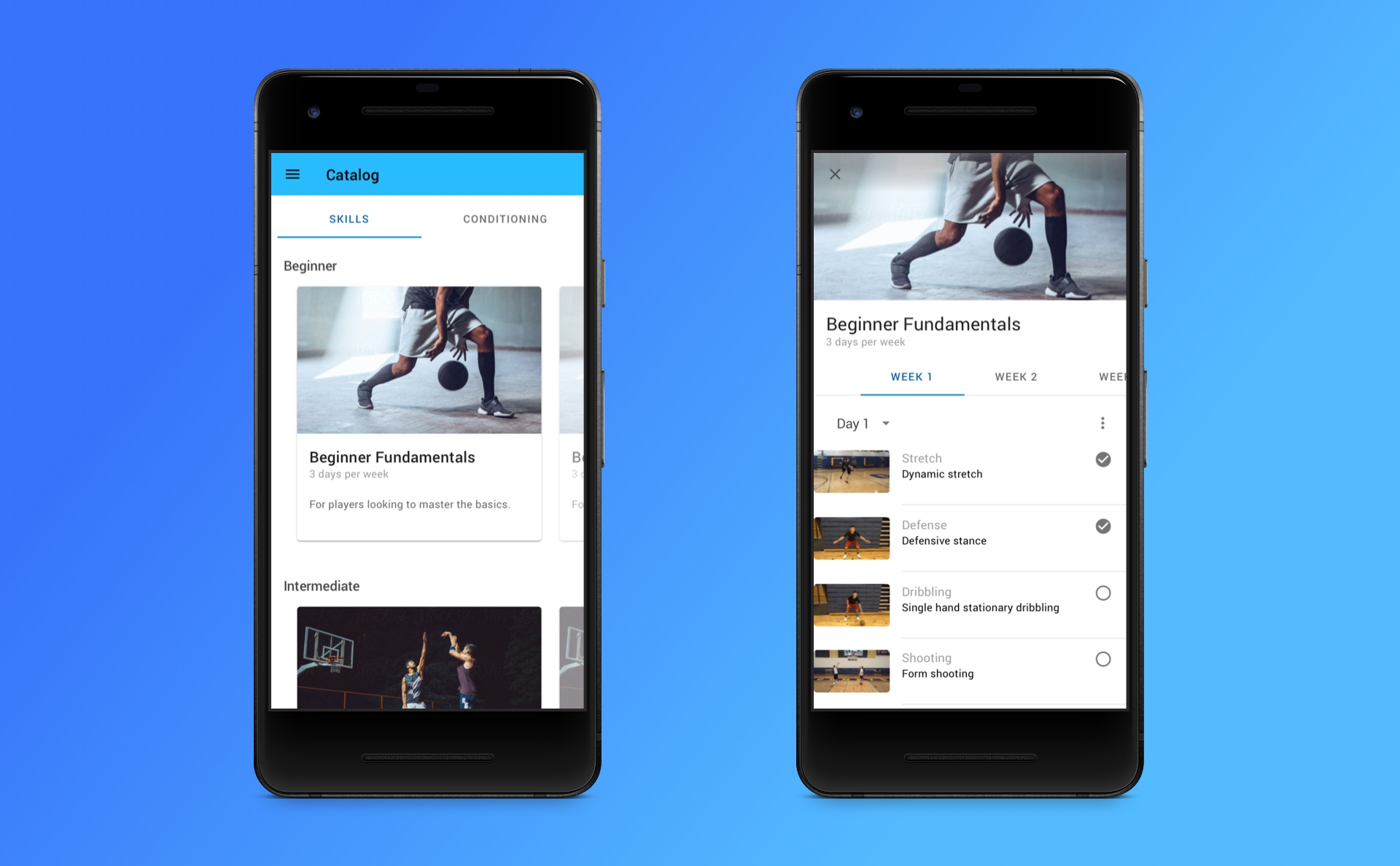 Blueprint Athletes Android App – Victor Lin